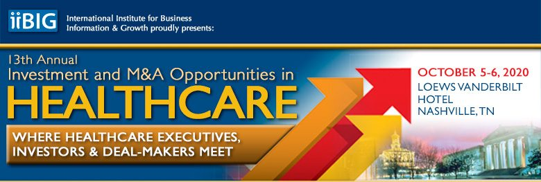 19th Investment and M&A Opportunities in HEALTHCARE
